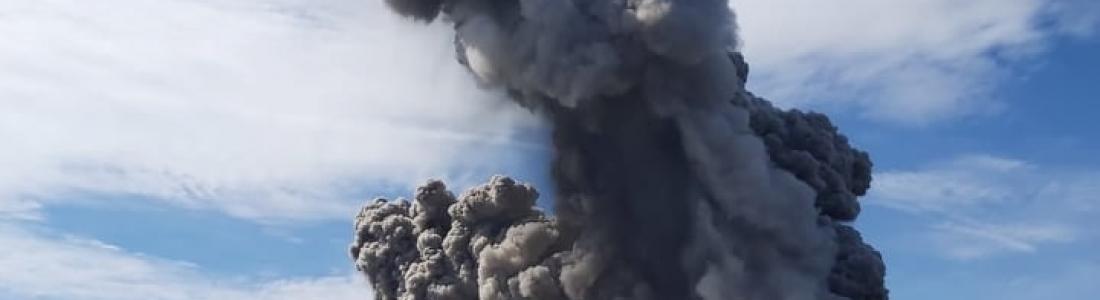 26 Juillet 2020. FR . Russie / Iles Kouriles : Ebeko , Philippines : Kanlaon , Indonésie : Raung , Guatemala : Fuego .