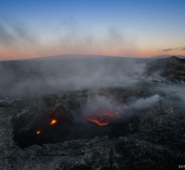 January 10 , 2018 . EN. Kilauea , Nevados de Chillan , Cumbal , Sierra Negra .