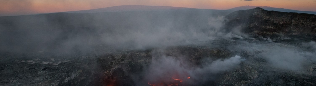 10 Janvier 2018 . FR . Kilauea , Nevados de Chillan , Cumbal , Sierra Negra .
