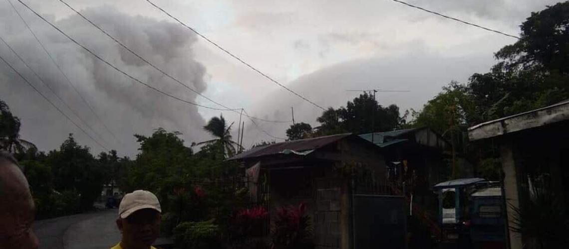 13 Janvier 2018. FR. Mise à jour  Mayon .
