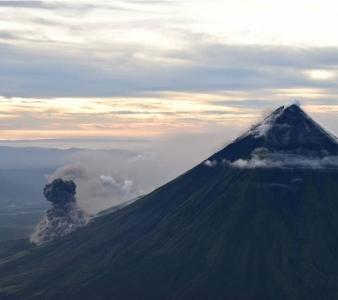 January 21 , 2018. EN. Mayon , Kilauea , Turrialba , Poas , Pacaya .