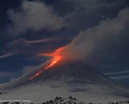 January 22, 2021. EN . Kamchatka : Klyuchevskoy , Hawaii : Kilauea , Ecuador : Reventador , Indonesia : Raung .