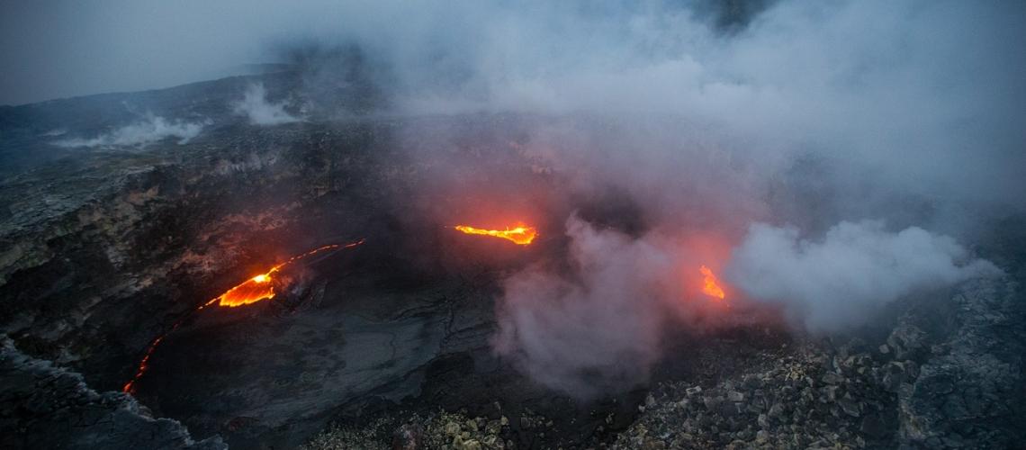January 28 , 2018. EN.  Kilauea , Mayon , Colima , Sinabung .