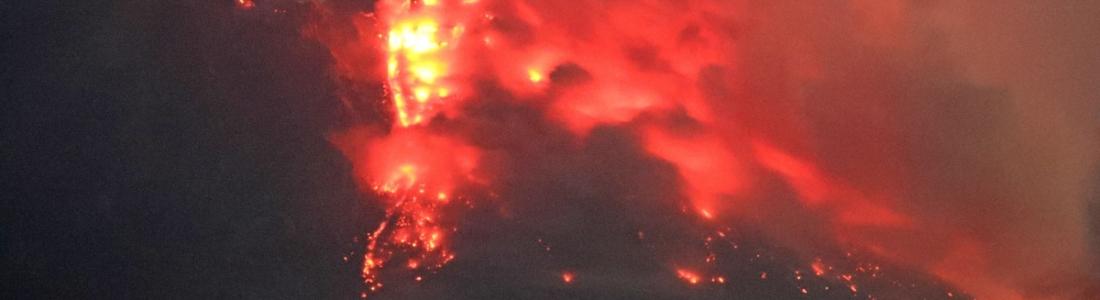 29 Aout 2021. FR. Alaska : Complexe Volcanique d'Atka , Alaska : Katmai , Kamchatka : Sheveluch , Hawaii : Kilauea , Italie / Sicile : Etna .
