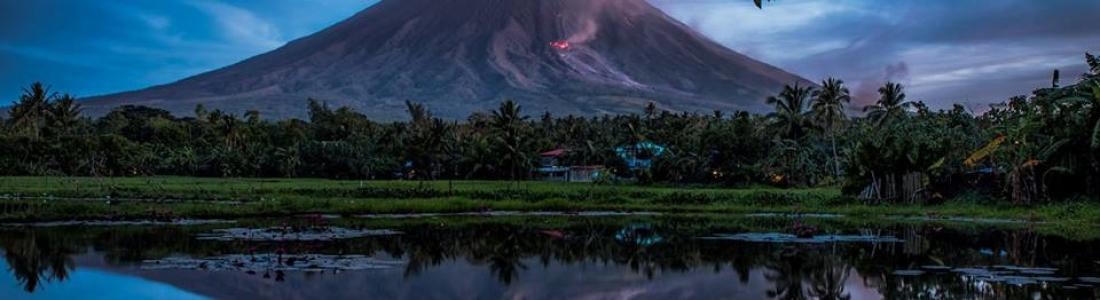 4 Fevrier 2018. FR . Mayon , Nevados de Chillan , Sinabung , Karangetang , Ebeko .