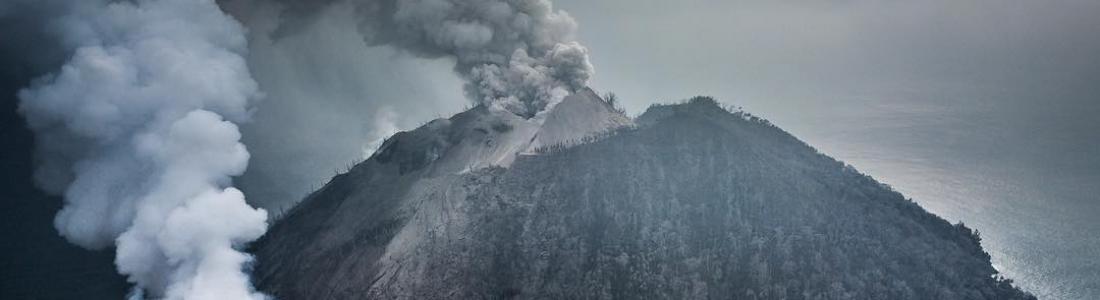 02 Fevrier 2018. FR . Mayon , Fuego , Piton de la Fournaise , Kadovar .