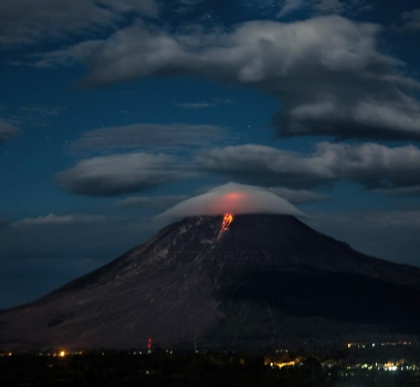 February 16 , 2018. EN.  Mayon , Mount Io , Galeras , Popocatepetl , Sinabung .