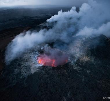 February 07 ,  2018. EN.   Kilauea , Mayon , Nevado del Ruiz , Shishaldin , Nevados de Chillan.