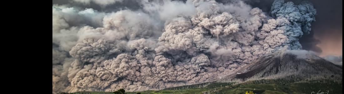 24 Fevrier 2018. FR. Mayon , Yellowstone , Ebeko , Sinabung  .