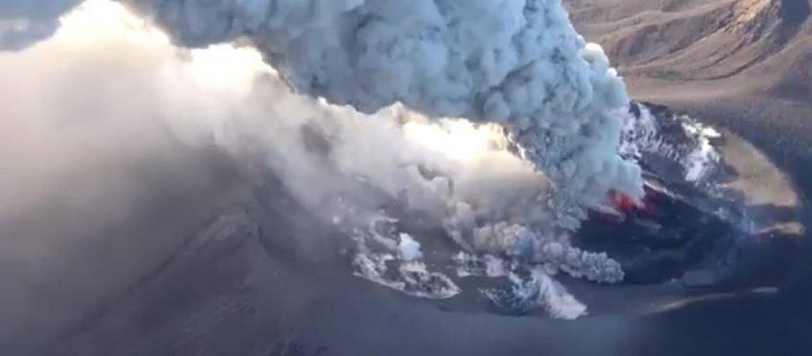 March 09 , 2018. EN.  Kilauea , Shinmoedake , Nevados de Chillan , Sinabung .