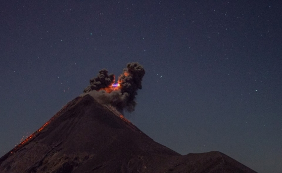22 Mars  2018. FR.  Kanlaon , Shinmoedake , Mauna Loa , Fuego , Kadovar .