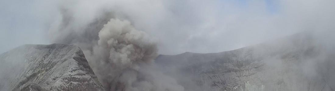 April 01 , 2018.  EN. Turrialba , Poas , Rincon de la Vieja , Ebeko , Cumbal , Popocatepetl .