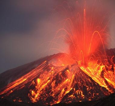 February 06 , 2016. EN. Sakurajima , White Island , Reventador .
