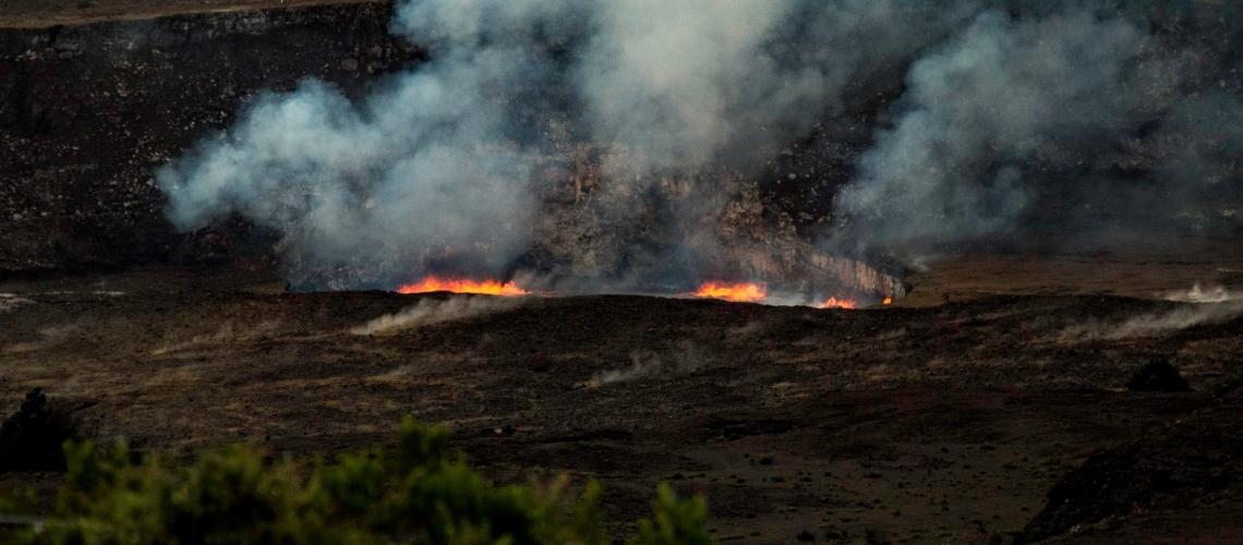 April 17 , 2018. EN.  Kilauea , Sabancaya , Nevados de Chillan , Dukono .