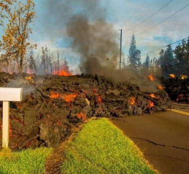 May 07 , 2018. EN.  Pu'u 'Ō'ō / Kilauea , Pacaya , Piton de la Fournaise , Ibu .