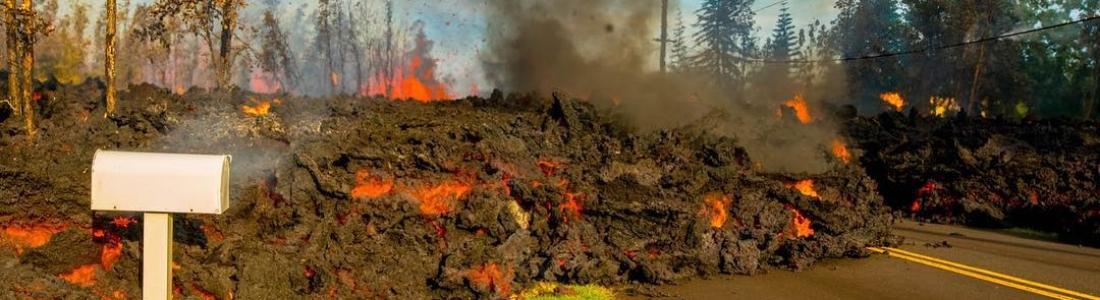 07 Mai 2018. FR . Pu'u 'Ō'ō / Kilauea , Pacaya , Piton de la Fournaise , Ibu .