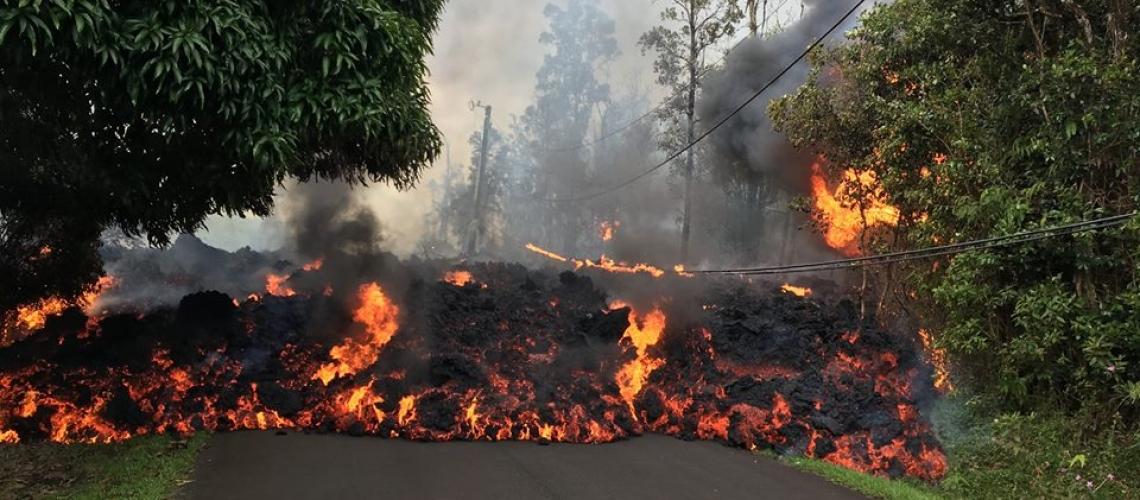 May 09 , 2018. EN.  Pu'u 'Ō'ō / Kilauea , Piton de la Fournaise , Nevados de Chillan , Popocatepetl , Osorno .