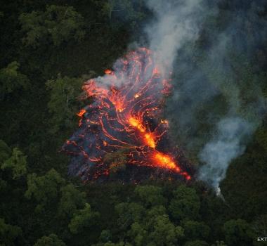 May 14 ,  2018. EN.  Pu'u 'Ō'ō / Kilauea , Piton de la Fournaise , Karymsky , Pacaya , San Miguel ( Chaparrastique ) .