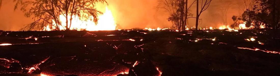 23 Mai 2018 . FR. Pu'u 'Ō'ō / Kilauea , Chiles / Cerro Negro , Piton de la Fournaise , Mérapi , Pacaya .