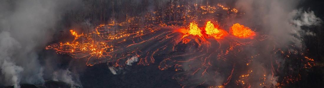 29 Mai 2018. FR. Pu'u 'Ō'ō / Kilauea , Reventador , Sabancaya , Agung , Piton de la Fournaise .