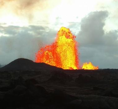 01 Juin 2018.  FR .  Pu'u 'Ō'ō / Kilauea , Reventador , Langila , Mérapi .