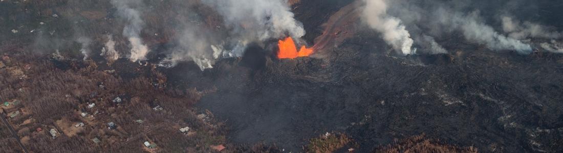 04 Juin 2018. FR.  Pu'u 'Ō'ō / Kilauea , Fuego , Popocatepetl , Merapi .
