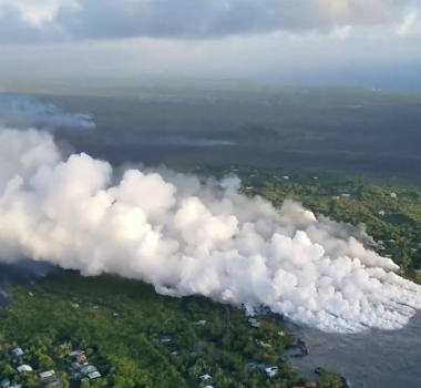 June 05 ,  2018 .  EN.  Pu'u 'Ō'ō / Kilauea , Fuego , Sabancaya , Ebeko .