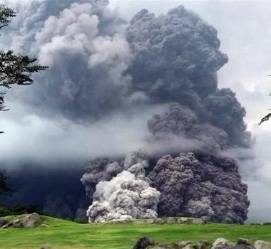 June 04 ,  2018.  EN .  Special eruption Fuego , update 11h.