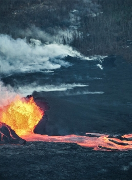 June 11 , 2018.  EN. Hawai : Pu'u 'Ō'ō / Kilauea ,  Chile : Osorno , Guatemala : Fuego , Aleutian Islands : Great Sitkin .