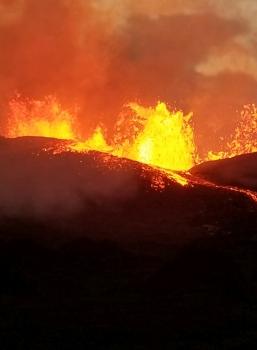 June 12 , 2018. EN.  Hawai : Kilauea / Pu'u 'Ō'ō ,  Guatemala : Fuego , Aleutians Islands : Great Sitkin , Mexico : Popocatepetl .