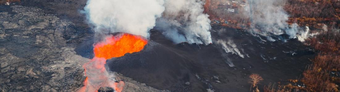 13 Juin 2018. FR. Hawai : Pu'u 'Ō'ō / Kilauea , Guatemala : Pacaya , Guatemala : Fuego , Indonesie : Agung ,