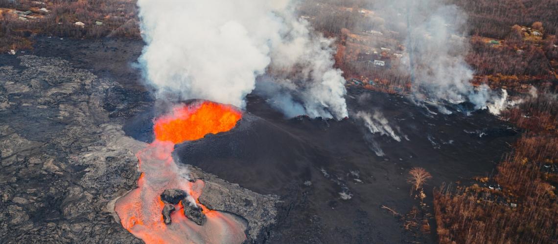 June 13 , 2018.  EN . Hawai : Pu'u 'Ō'ō / Kilauea , Guatemala : Pacaya , Guatemala : Fuego , Indonesia : Agung .
