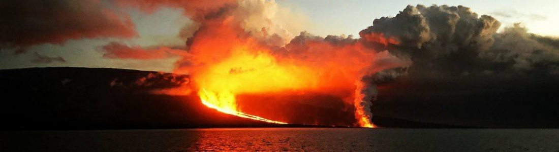 January 26, 2020. EN. Ecuador / Galapagos : Fernandina , Philippines : Taal , Kamchatka : Sheveluch , Indonesia : Anak Krakatau , Guatemala : Santiaguito .
