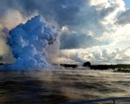 June 20 , 2018.  EN.  Hawai : Pu'u 'Ō'ō / Kilauea , Colombie : Galeras ,  Philippines : Mayon , Kamchatka : Ebeko .