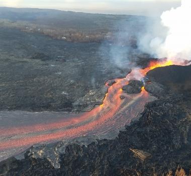 June 19 , 2018. EN.  Hawai :  Pu'u 'Ō'ō / Kilauea , Ecuador / Galapagos , Fernandina , Guatemala : Fuego , Peru : Sabancaya .