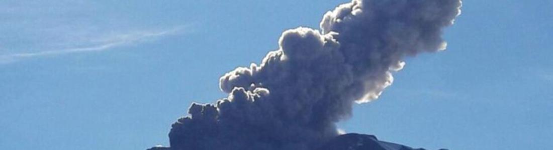 30 Novembre 2018. FR.  Russie / Kouriles du Nord : Ebeko , Chili : Nevados de Chillan , Italie / Sicile : Etna , Guatemala : Fuego , Costa Rica : Turrialba .