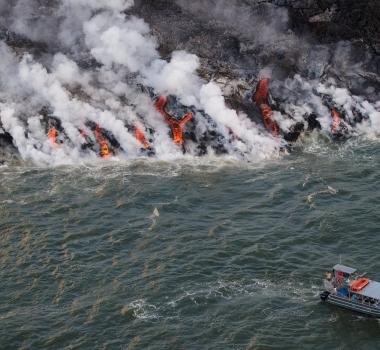 June 22 , 2018. EN , Hawai : Pu'u 'Ō'ō / Kilauea ,  Hawai : Mauna Loa , Indonesia : Krakatau , Nicaragua : Telica .