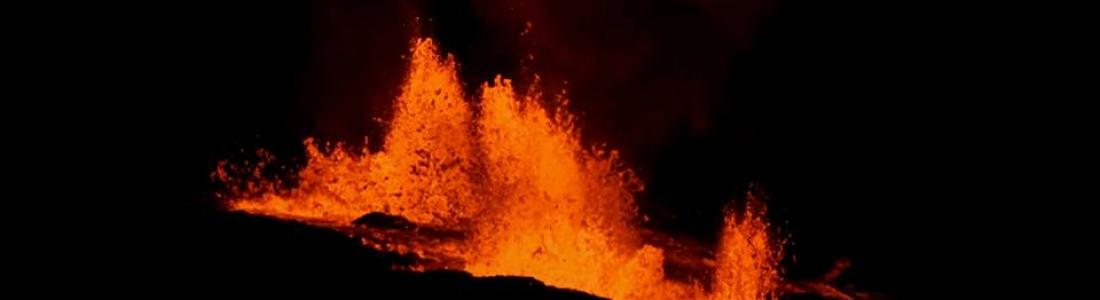 28 Juin 2018. FR. Equateur / Galapagos : Sierra Negra , Hawai : Kilauea , Alaska : Great Sitkin , Japon : Nishinoshima , Papouasie Nouvelle Guinée : Kadovar .