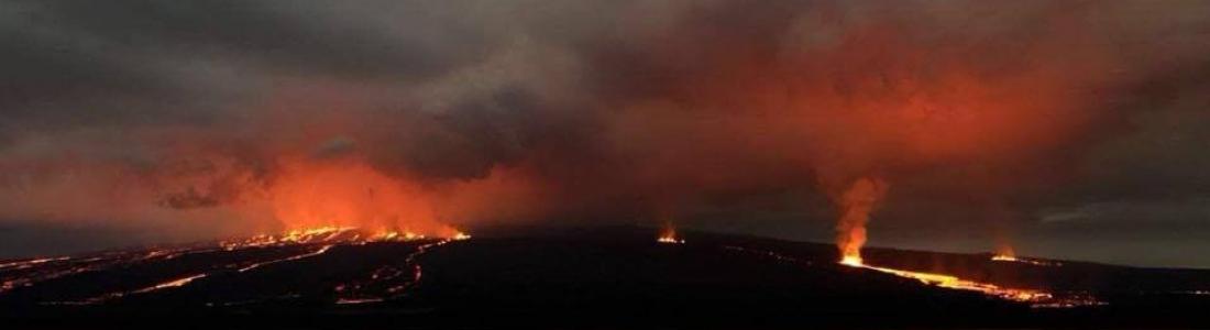 09 Juillet 2018. FR. Chili : Copahue , Equateur / Galapagos : Sierra Negra , Hawai : Kilauea , Reventador : Equateur .