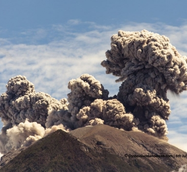 July 06 , 2018 . EN.  Indonesia : Anak Krakatau , Guatemala : Pacaya , Hawai : Kilauea , Colombia : Chiles / Cerro Negro , Indonesia : Agung .