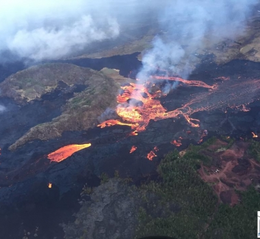 July 11 , 2018.  EN.  Guatemala : Fuego , Hawai : Kilauea , Colombia : Nevado Del Huilà , Philippines : Kanlaon .
