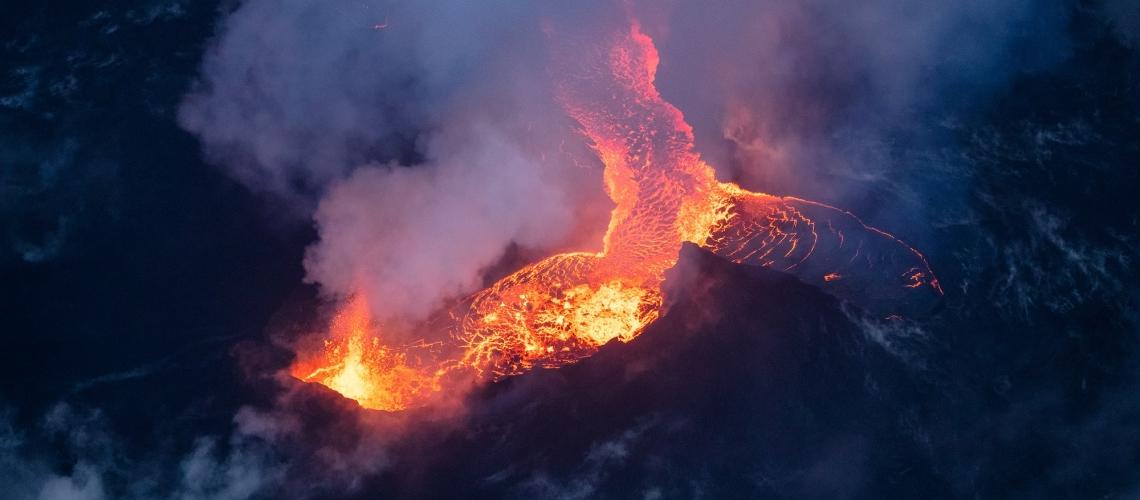 August 01 , 2018. EN.  Chile : Villarica , Colombia : Galeras , Mexico : Popocatepetl , Hawai : Kilauea , Indonesia : Lombok .
