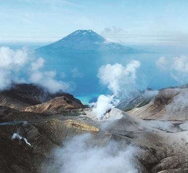 September 07 , 2018.  EN.   Kamchatka : Ebeko , Colombia : Galeras , Guatemala : Santiaguito , Vanuatu / Gaua Island : Mount Garet , Hawai : Kilauea .