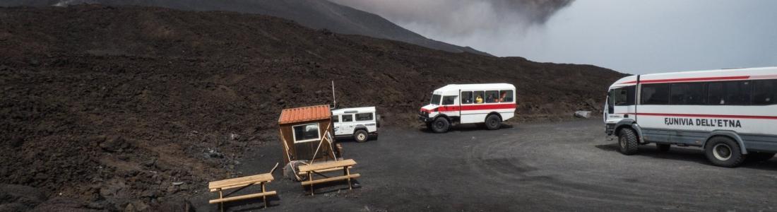 September 13 , 2018.  EN.   Sicily / Italy : Etna , Iceland : Öræfajökull , Chile : Puyehue – Cordon Caulle , Kamchatka : Klyuchevskoy , Mexico : Popocatepetl .