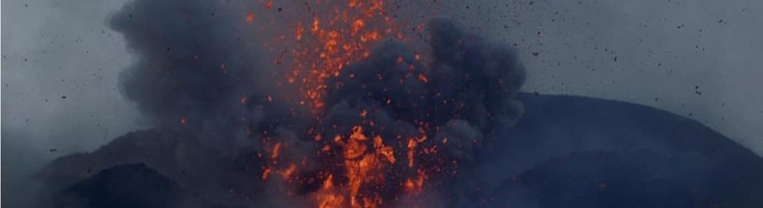 20 Septembre 2018. FR. La Réunion : Piton de la Fournaise , Colombie : Chiles / Cerro Negro , Italie : Campi Flegrei , Indonésie : Anak Krakatau .
