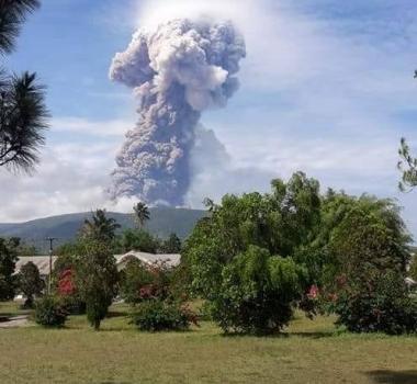 October 04 , 2018. EN.  La Réunion : Piton de la Fournaise , Indonesia : Anak Krakatau , Indonesia : Soputan , Papua New Guinea : Manam , Indonesia : Gamalama .