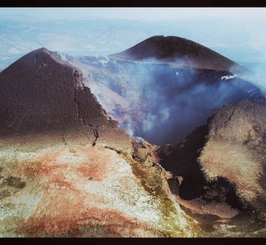 October 11 , 2018.  EN.  Colombia : Chiles / Cerro Negro , Italy / Sicily : Etna , La Réunion : Piton de la Fournaise , Indonesia : Gamalama .