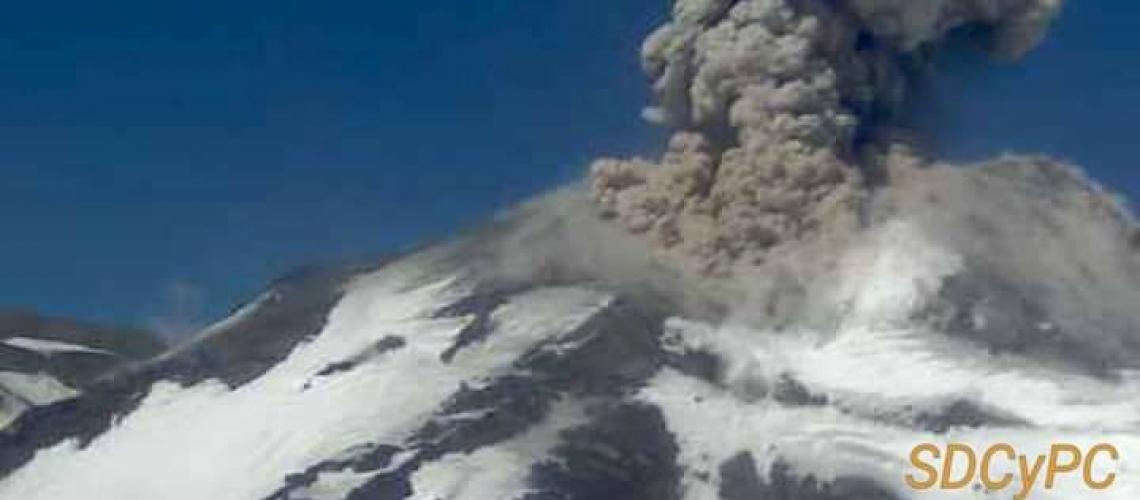 October 14 , 2018.  EN.  Guatemala : Fuego , La Réunion : Piton de la Fournaise , Chile : Nevados de Chillan , Hawai : Kilauea .