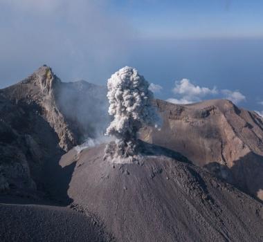 October 16 , 2018. EN. Costa Rica : Turrialba , Indonesia : Merapi , La Réunion : Piton de la Fournaise , Peru : Sabancaya , Indonesia : Sangeang Api .