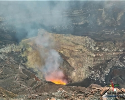 October 17 , 2018. EN.  Chile : Copahue , Vanuatu : Ambrym , La Réunion : Piton de la Fournaise , Colombia : Chiles / Cerro Negro , Guatemala : Fuego .